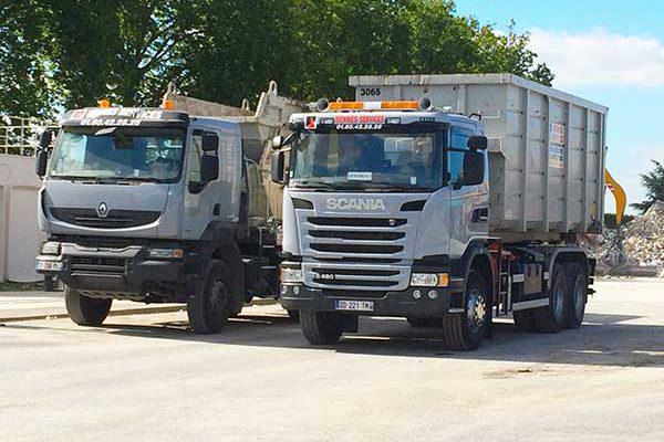 Camions Bennes Services Logistique